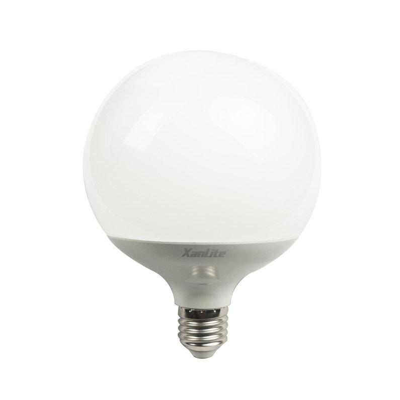 Ampoule Led Opaque Globe 125 Mm E27 2452 Lm 150 W Blanc Chaud Xanlite
