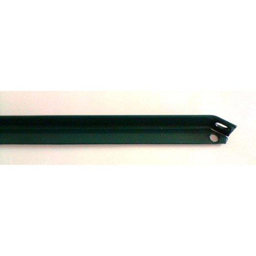 Jambe de force pour grillage l 25 m maxi h triple pro vert peint - Jambe de force grillage ...