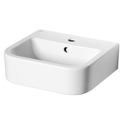 Lavabo ideal standard seventies blanc en porcelaine l for Lavabo leroy merlin
