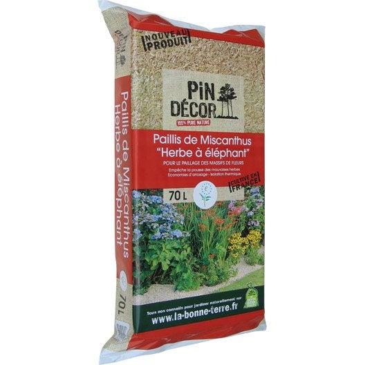 Paillage naturel ecorce pin bille argile copeaux for Paillage ardoise leroy merlin