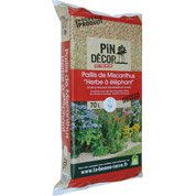 Paillis de miscanthus PIN DECOR, 70 l