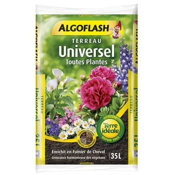 Terreau universel ALGOFLASH, 35 l
