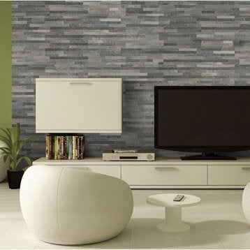 plaquette de parement plaquette de parement et brique de verre leroy merlin. Black Bedroom Furniture Sets. Home Design Ideas