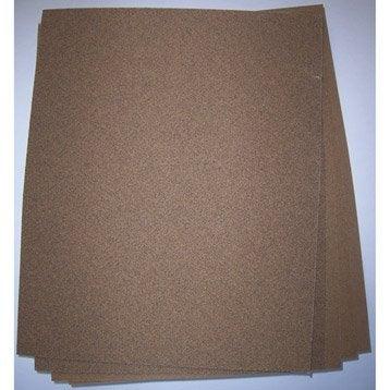 Lot de 5 feuilles abrasives 3M, 280 x 230 mm grains 120