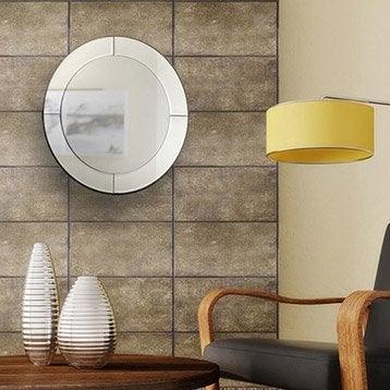 Miroir stickers cadre miroir et affiche leroy merlin for Miroir diametre 50