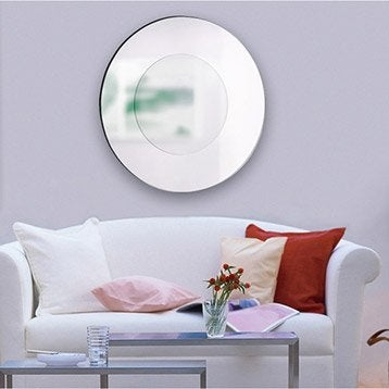 Miroir stickers cadre miroir et affiche leroy merlin for Miroir 2 metre