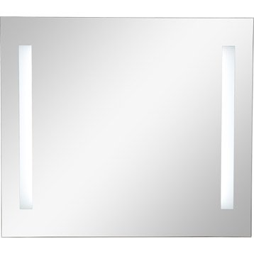 Miroir lumineux eclairage intégré, l.45 x H.70 cm, SENSEA Ayo