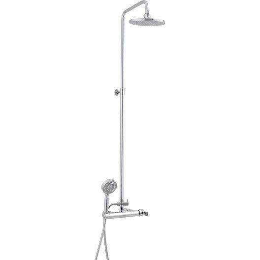 colonne de douche avec robinetterie dado leroy merlin. Black Bedroom Furniture Sets. Home Design Ideas