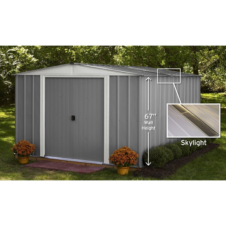 abri de jardin m tal lm101267s m ep mm leroy merlin. Black Bedroom Furniture Sets. Home Design Ideas