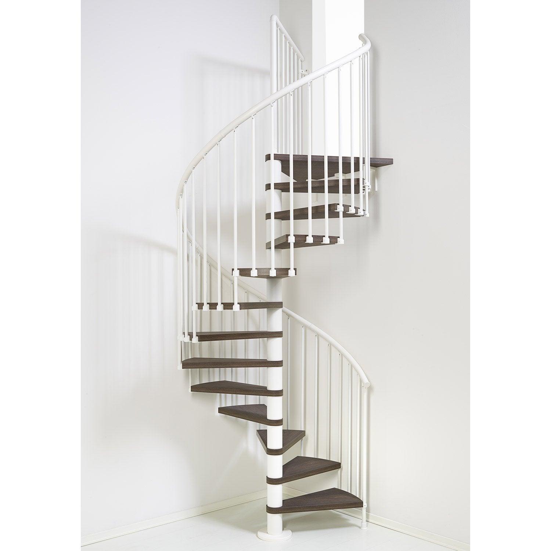 escalier colima on rond ring structure acier marche bois leroy merlin. Black Bedroom Furniture Sets. Home Design Ideas