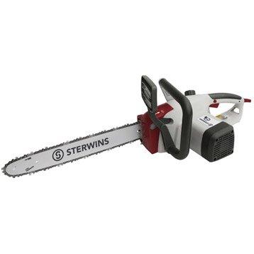 Tronçonneuse électrique filaire STERWINS CS1800-2 1800W, 35cm de coupe