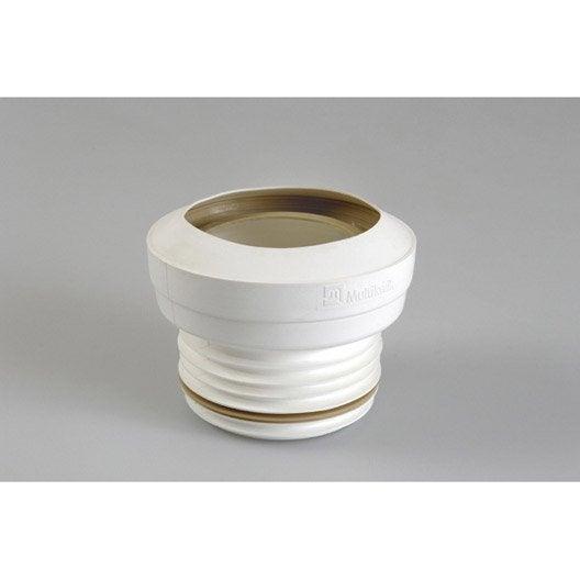 pipe de wc courte souple droite diam 9 7 cm girpi leroy merlin. Black Bedroom Furniture Sets. Home Design Ideas