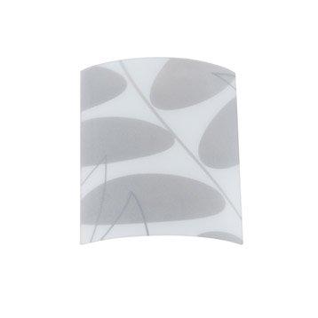 verre pour applique composer dalian gris inspire. Black Bedroom Furniture Sets. Home Design Ideas