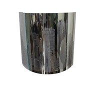 Applique New York, 1 x 40 W, Métal Chrome, INSPIRE