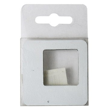 Lot de 5 magnets Cadre s, blanc l.5.8 x H.5.8 cm