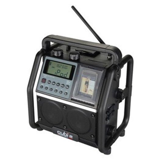 Radio de chantier cubi2 perfect pro 16 w leroy merlin - Aspirateur chantier leroy merlin ...