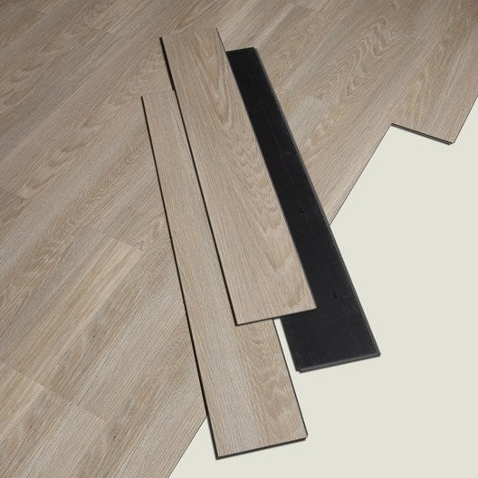 lame pvc clipsable naturel rosebud senso lock gerflor leroy merlin. Black Bedroom Furniture Sets. Home Design Ideas