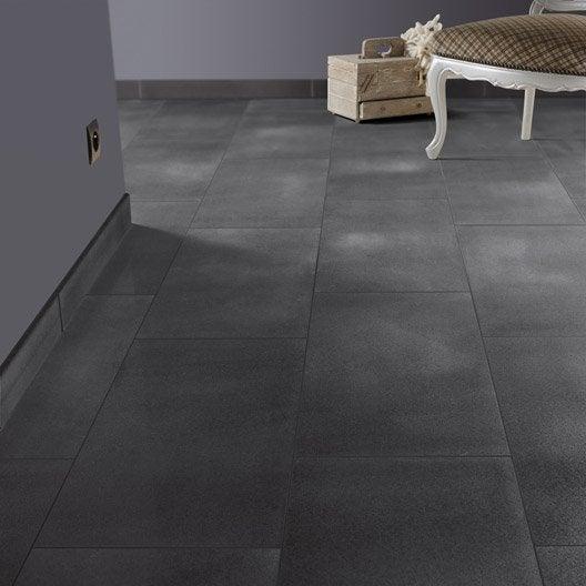 carrelage sol et mur noir effet pierre starlight x l. Black Bedroom Furniture Sets. Home Design Ideas