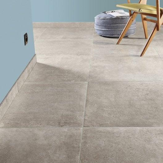 Carrelage sol et mur beige effet pierre ch teau x l for Carrelage 45 ou 60