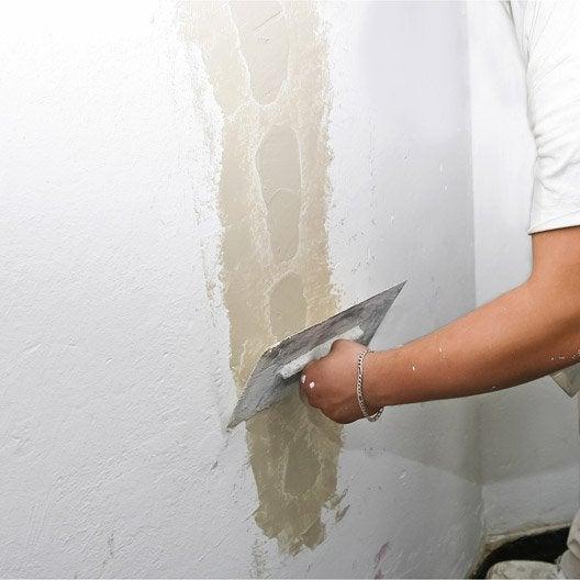 Beautiful Pr Parer Un Mur Avant De Le Peindre 45 Min 1h Leroy Apprendre A Peindre Un  Mur