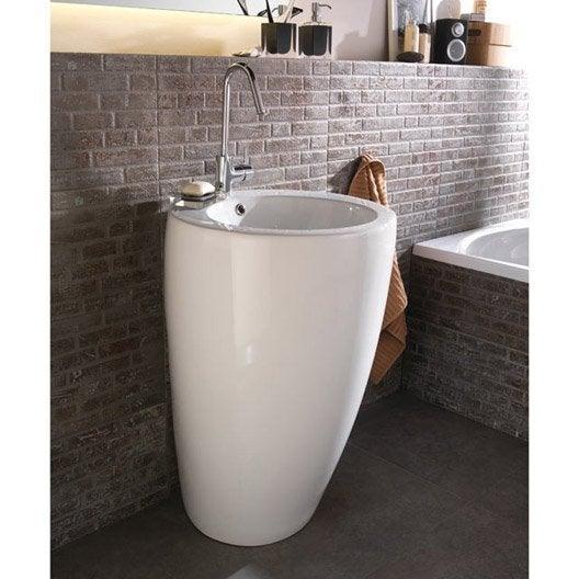 Lavabo meuble de salle de bains au meilleur prix leroy merlin - Castorama meuble lavabo ...