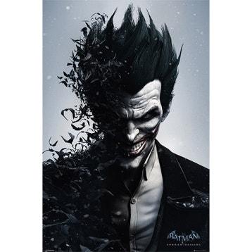 Affiche toile et plaque murale au meilleur prix leroy - Batman contre joker ...