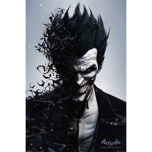 Affiche contre coll e batman joker x cm leroy - Batman contre joker ...