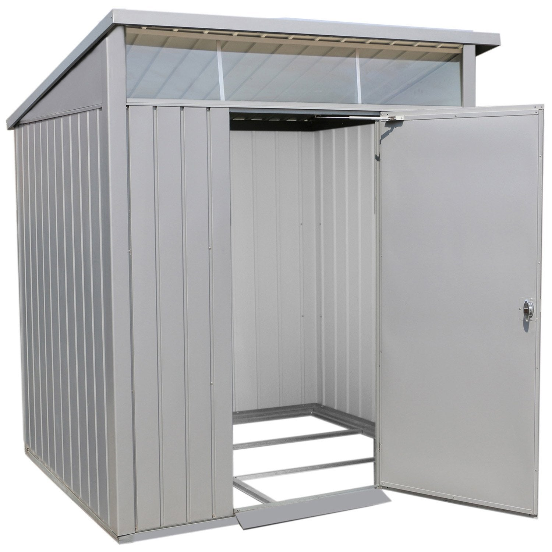 abri de jardin acier duramax ep.0.45 mm, 3.13 m² | leroy merlin