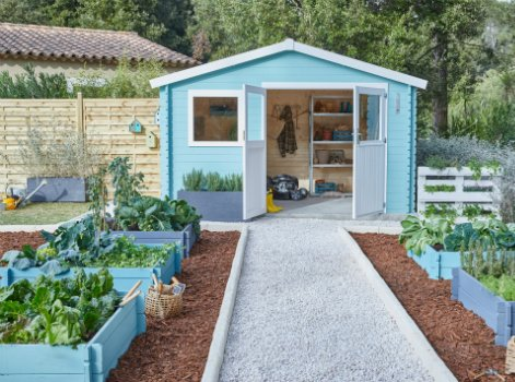 Tout savoir pour bien ranger son abri de jardin | Leroy Merlin