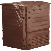 Composteur monobloc GEOLIA 610011 marron 400 l