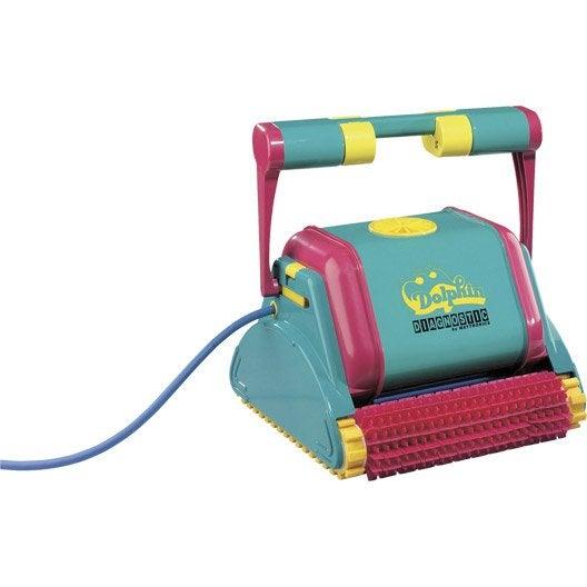 robot de nettoyage lectrique maytronics dolphin 2001 leroy merlin. Black Bedroom Furniture Sets. Home Design Ideas
