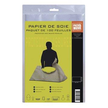 Lot de 100 feuilles de papier de soie 32.5x60cm