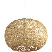 Suspension, e27 bord de mer Hana bambou naturel 1 x 60 W INSPIRE