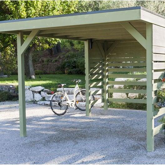 carport bois aluminium 1 ou 2 voitures abri voiture au. Black Bedroom Furniture Sets. Home Design Ideas