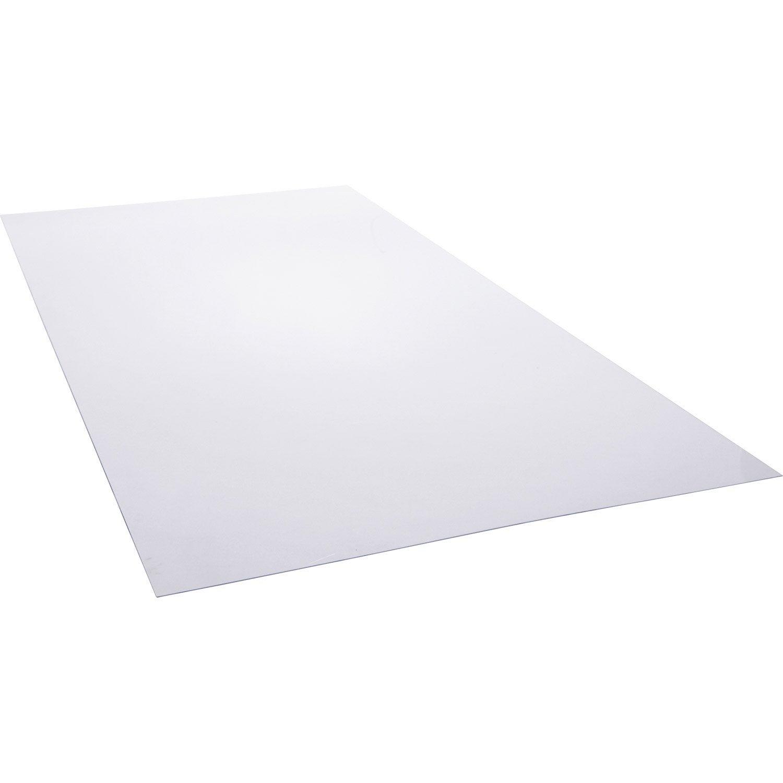 Plaque Pvc Exterieur Transparent