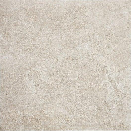 Carrelage sol et mur beige effet pierre chateau x l for Carrelage 5 cm