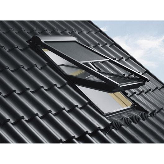 store fen tre de toit pare soleil t l command lectrique noir velux mmlsk06 leroy merlin. Black Bedroom Furniture Sets. Home Design Ideas