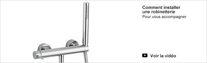 barre de douche avec pommeau colonne de douche leroy merlin. Black Bedroom Furniture Sets. Home Design Ideas