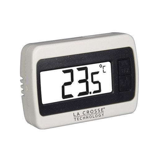 Thermom tre int rieur la crosse technology ws7002 leroy merlin - Thermometre decoratif interieur ...