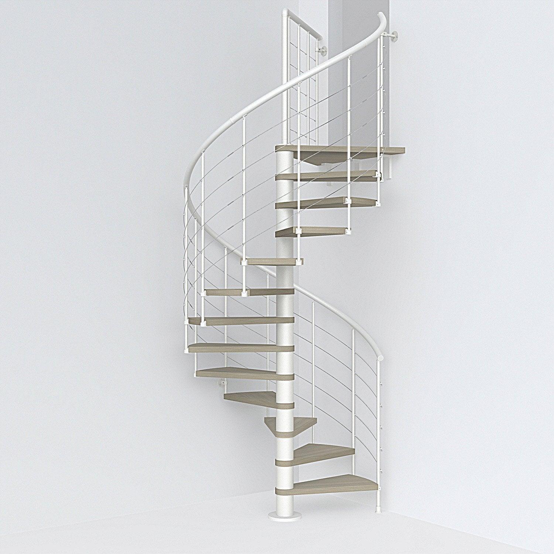 escalier helicoidal sur plancher chauffant