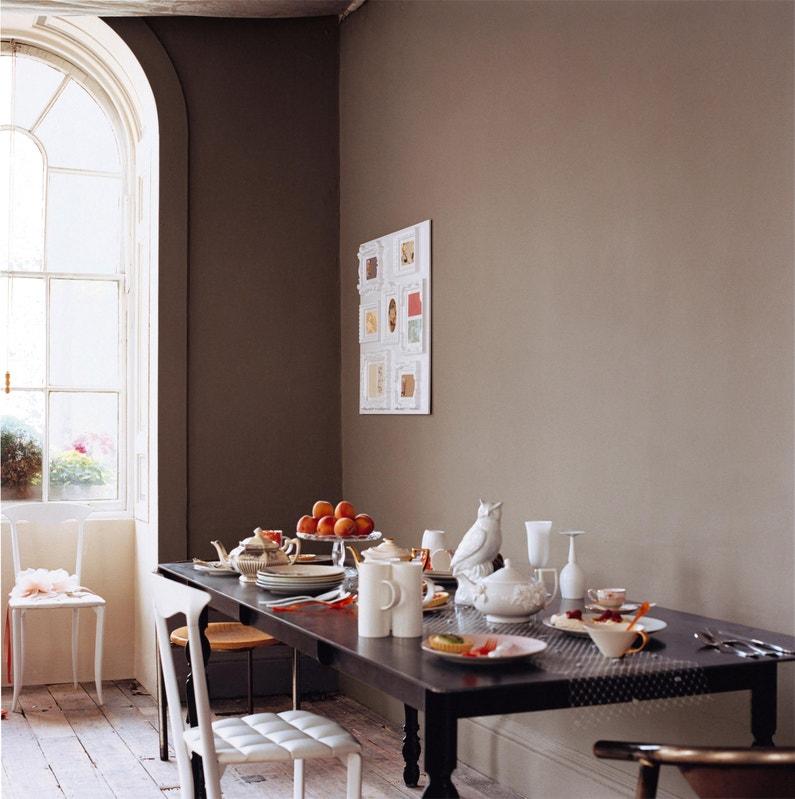 Peinture Taupe Mat Dulux Valentine Crème De Couleur 2 5 L