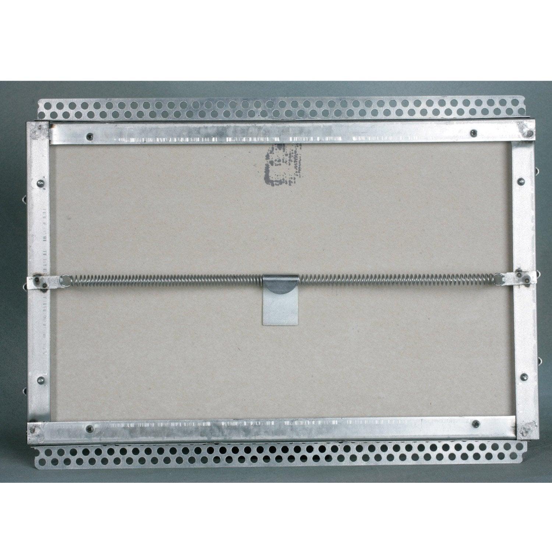 Trappe de visite pour lux élément , l.40 x H.25 cm, SANITRAP