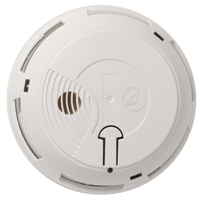 Détecteur de fumée interconnectable avec une alarme maison SYSTEC