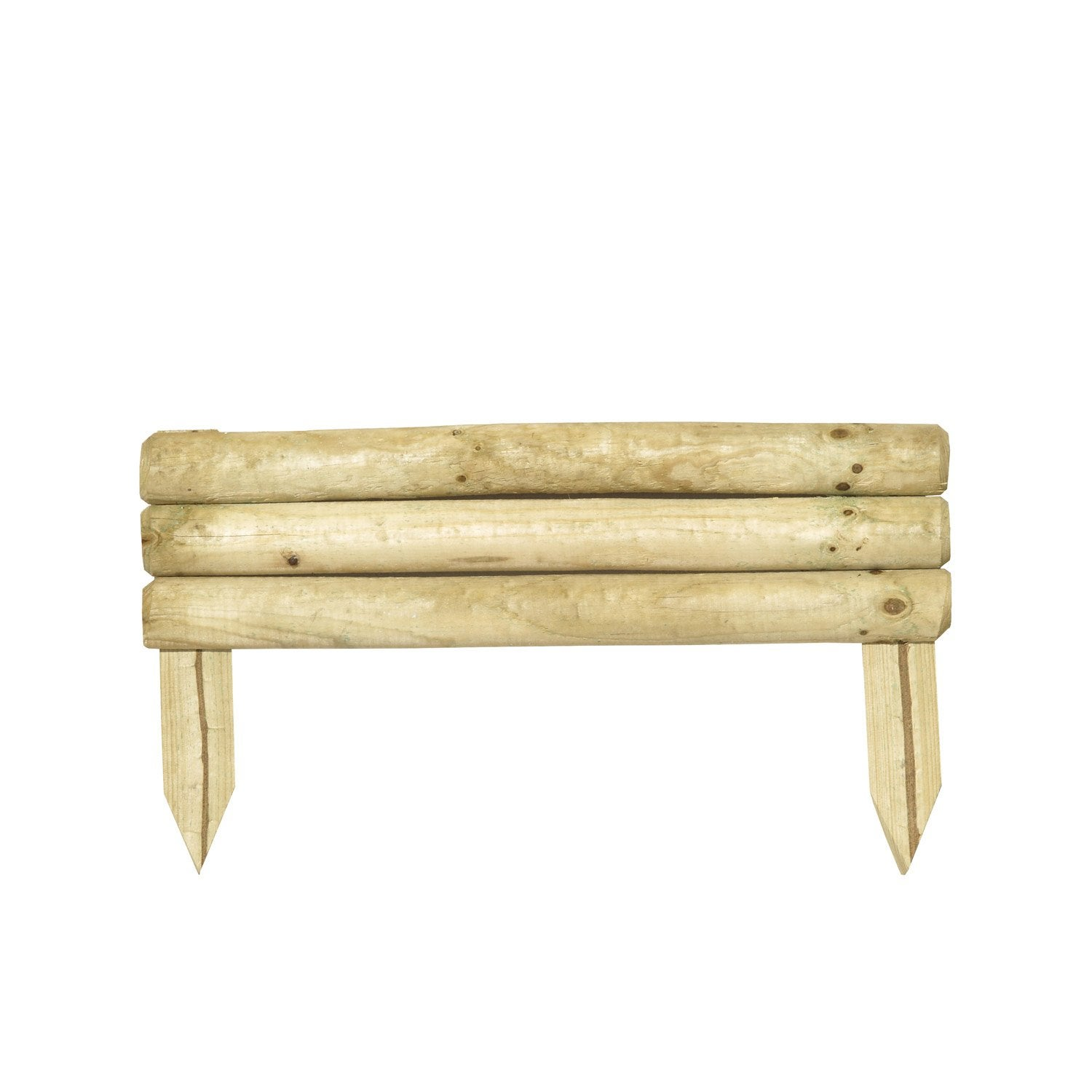 Bordure planter minitraverse bois naturel x - Bordures de jardin leroy merlin colombes ...