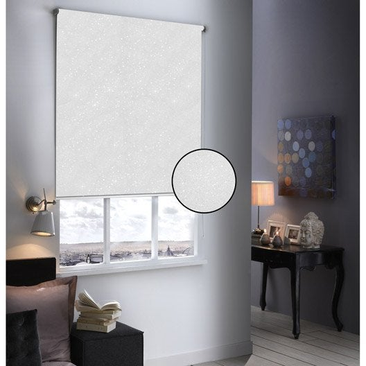 store enrouleur occultant paillettes blanc paillet. Black Bedroom Furniture Sets. Home Design Ideas