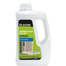 Imperméabilisant / hydrofuge plaquettes de parement AXTON, 1L