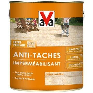 Imperméabilisant sol extérieur / intérieur Antitache V33, incolore, 2.5 l