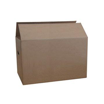 Carton de déménagement l.55 x H.33 x P.35 cm