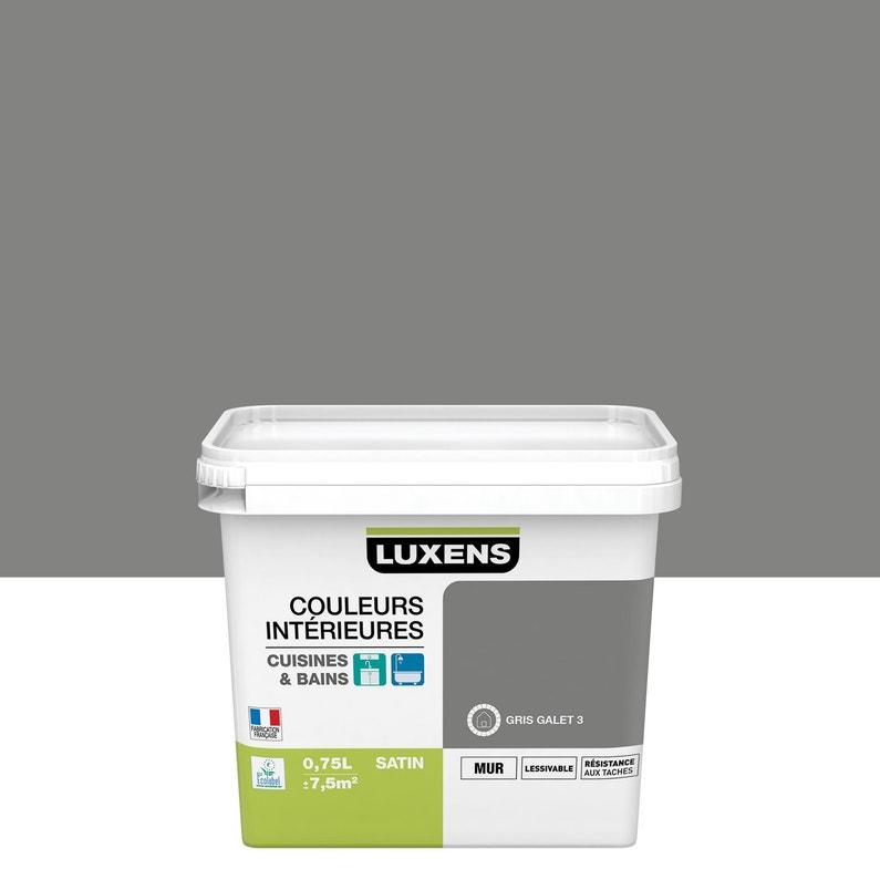 Peinture Couleurs Intérieures Luxens Gris Galet 3 0 75 L