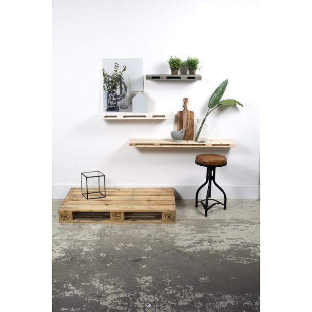 des tag res en palettes de bois pour un style naturel leroy merlin. Black Bedroom Furniture Sets. Home Design Ideas